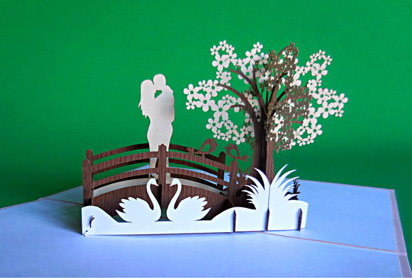 The Couple 3D Pop Up Greeting Card 2
