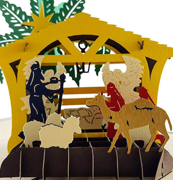 Three Kings Nativity 3D Pop Up Greeting Card 1