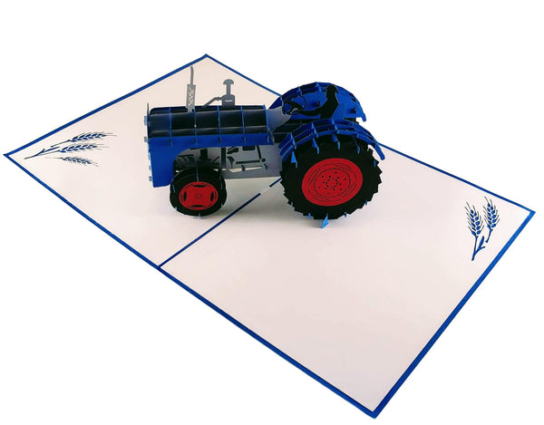 Tractor 3D Pop Up Greeting Card 2
