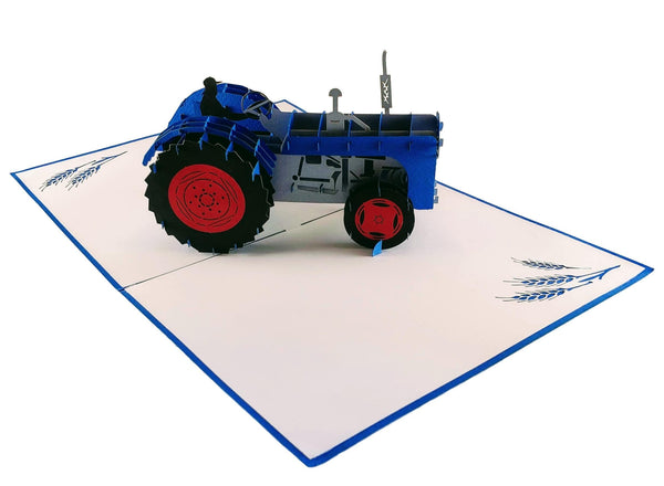 Tractor 3D Pop Up Greeting Card 3