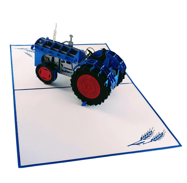 Tractor 3D Pop Up Greeting Card 6