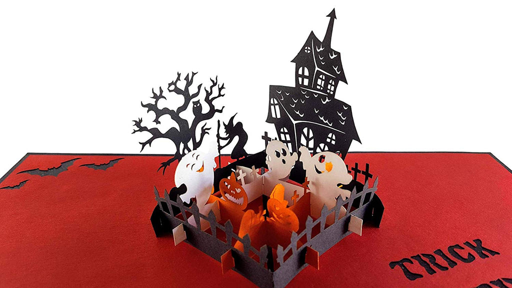 Trick or treat 3d pop up greeting card igifts and cards trick or treat 3d pop up greeting card m4hsunfo
