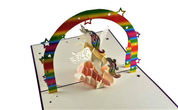 Unicorn 3D Pop Up Greeting Card 5