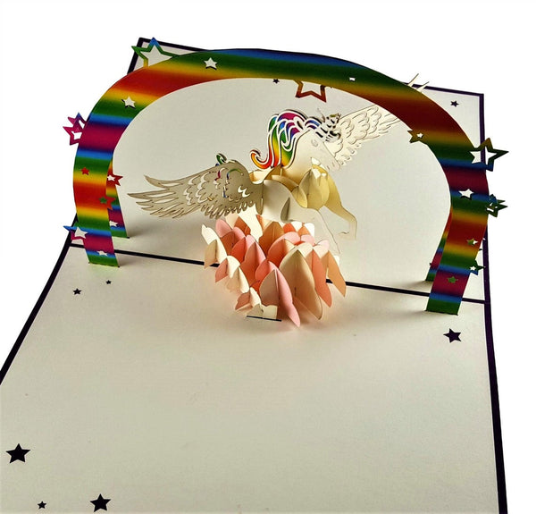 Unicorn 3D Pop Up Greeting Card 7