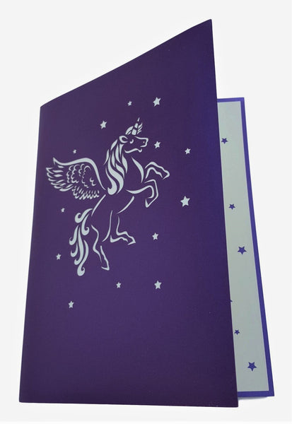 Unicorn 3D Pop Up Greeting Card 8