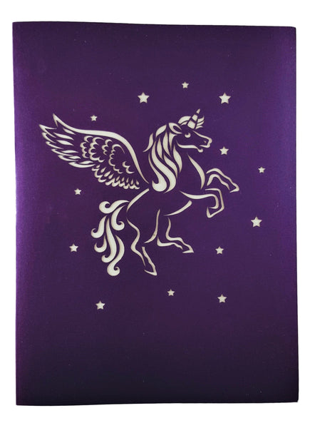Unicorn 3D Pop Up Greeting Card 9