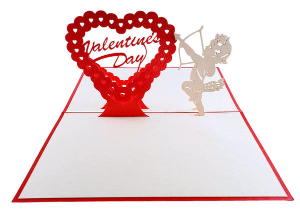Valentine's Day 3D Pop Up Greeting Card 2