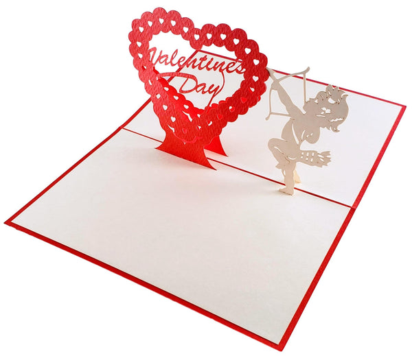 Valentine's Day 3D Pop Up Greeting Card 3