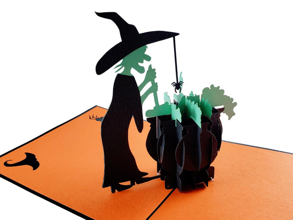 Wicked Witch 3D Pop Up Greeting Card 2
