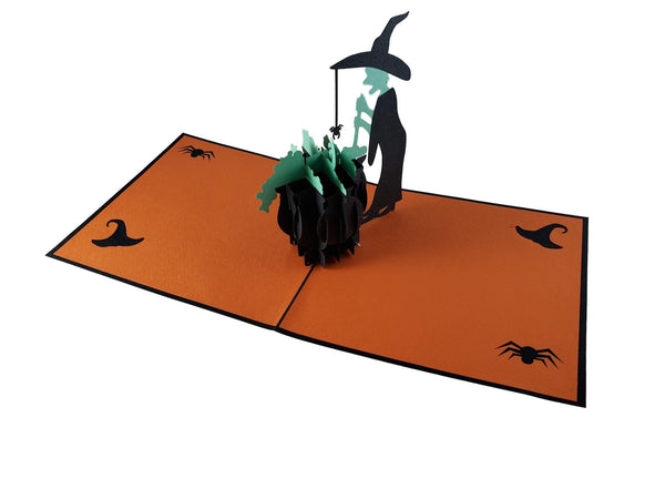 Wicked Witch 3D Pop Up Greeting Card 3