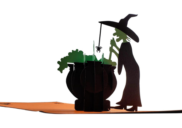Wicked Witch 3D Pop Up Greeting Card 4