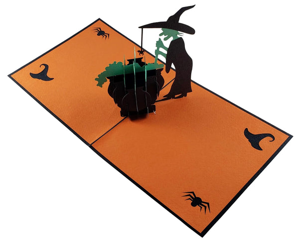 Wicked Witch 3D Pop Up Greeting Card 5