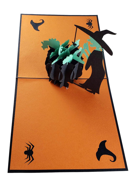 Wicked Witch 3D Pop Up Greeting Card 6