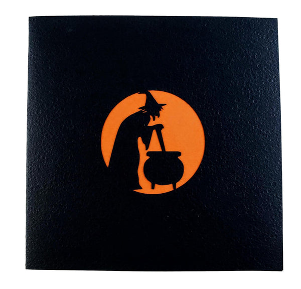 Wicked Witch 3D Pop Up Greeting Card 8