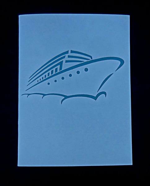 Yacht 3D Pop Up Greeting Card 3