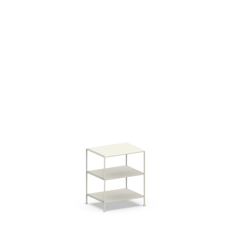 Stille Furniture Bedside Table High in Bone color