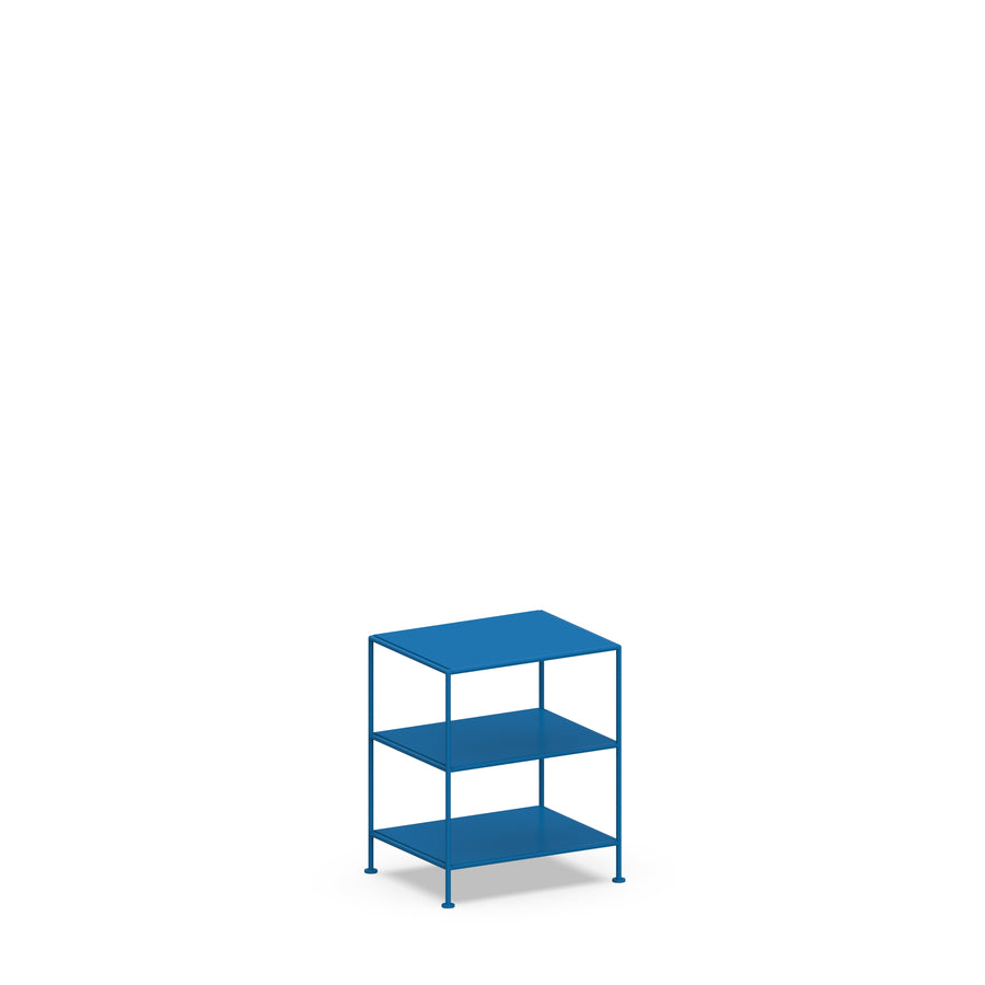 Stille Furniture Bedside Table High in Cobalt color