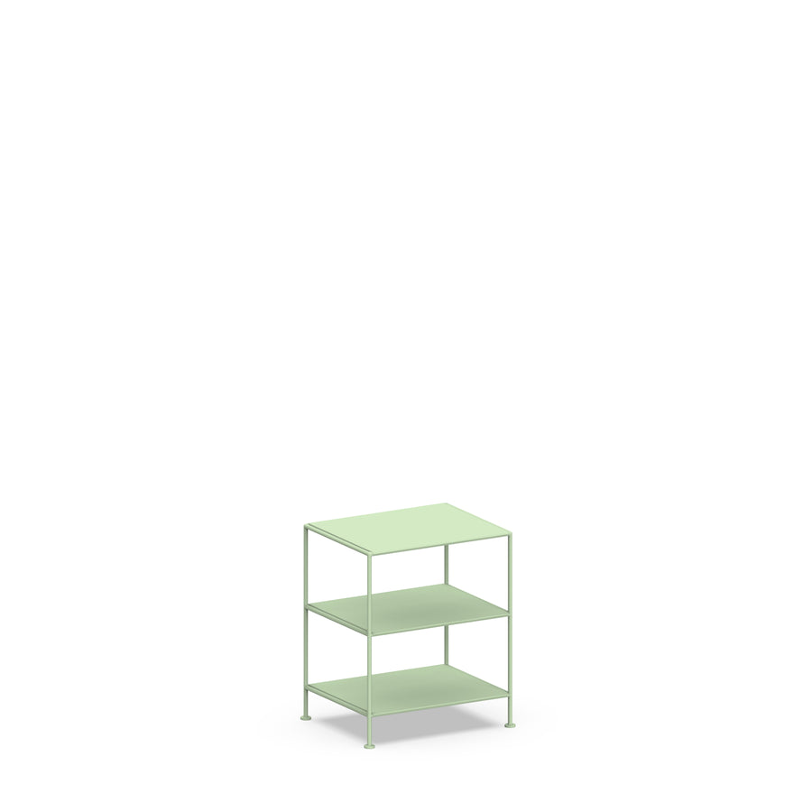 Stille Furniture Bedside Table High in Mint color