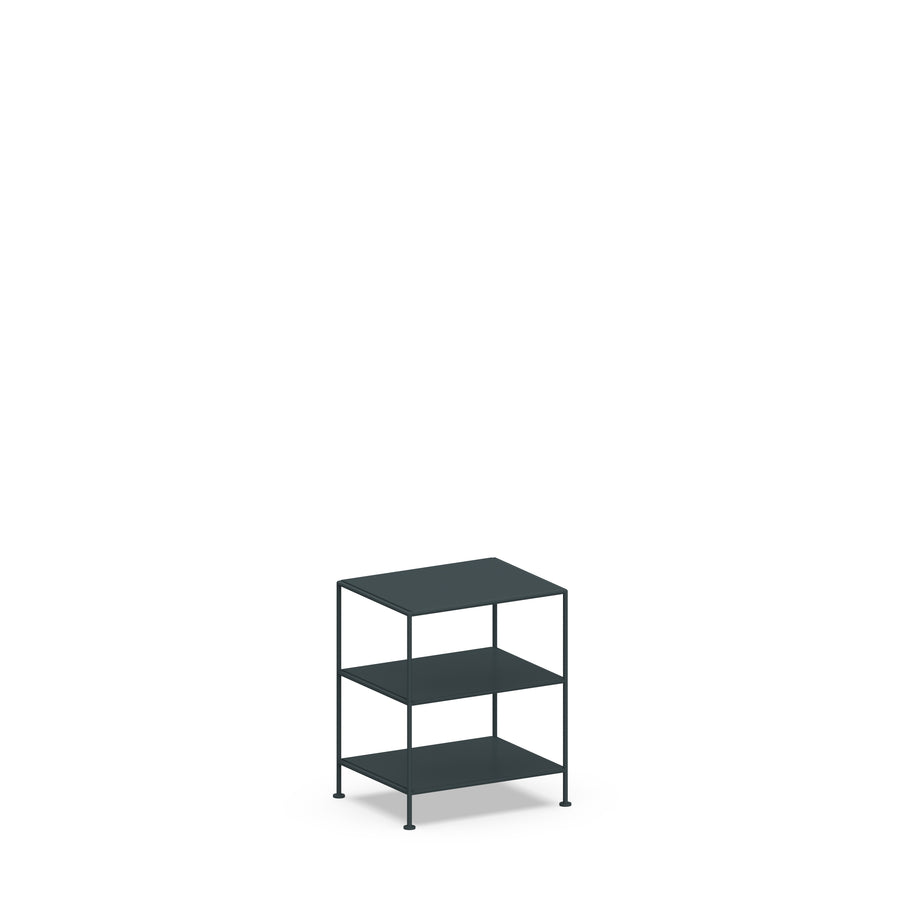 Stille Furniture Bedside Table High in Slate color