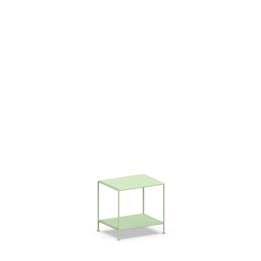 Stille Furniture Bedside Table Low in Mint color