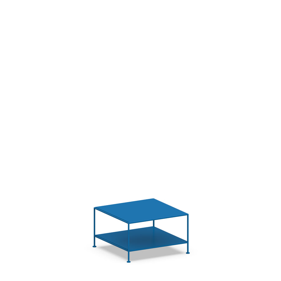 Stille Furniture Coffee Table Single in Cobalt color