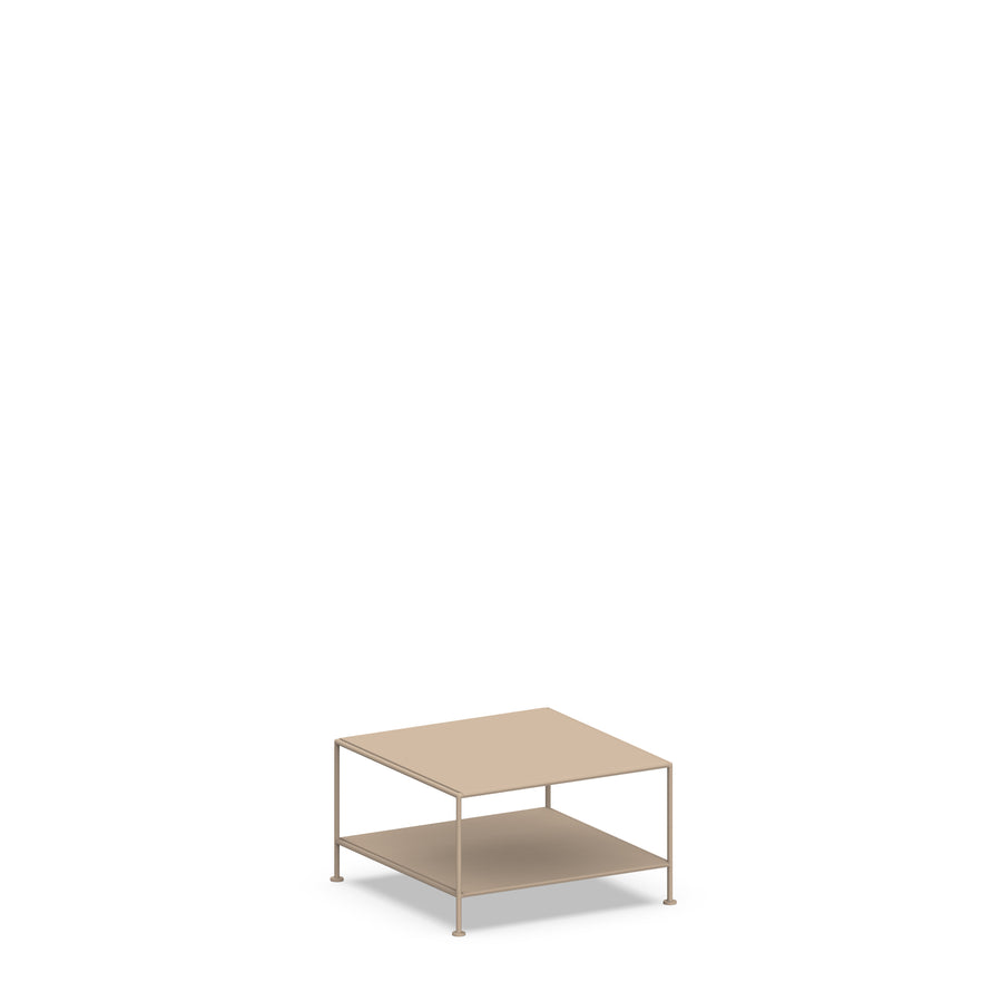 Stille Furniture Coffee Table Single in Taupe color