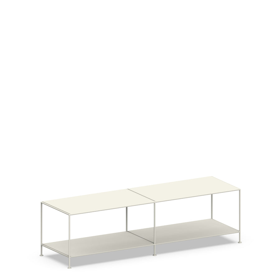Stille Furniture Media Console Deep in Bone color