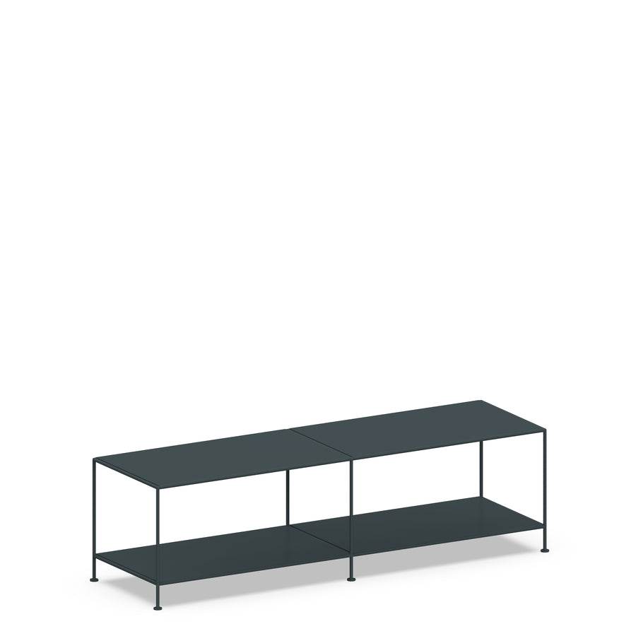 Stille Furniture Media Console Deep in Slate color