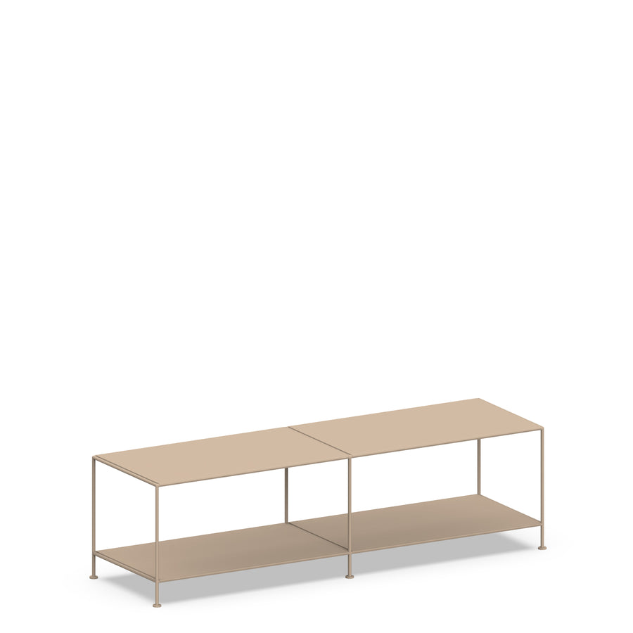Stille Furniture Media Console Deep in Taupe color