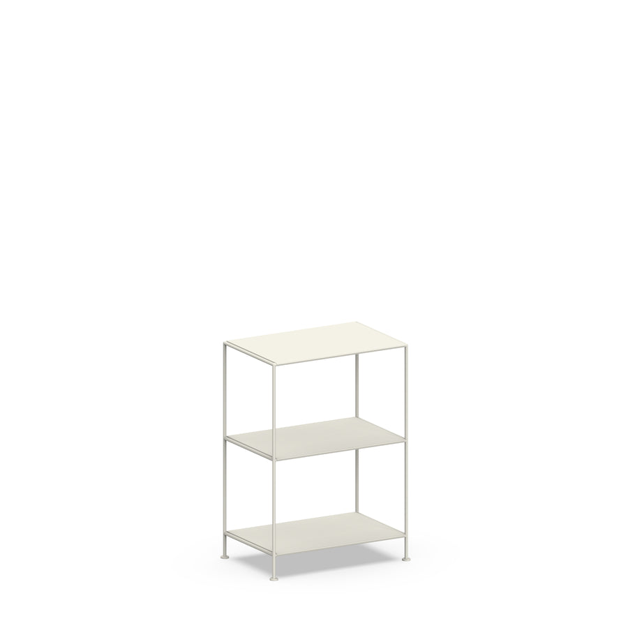 Stille Furniture Narrow Shelves 3-tier in Bone color