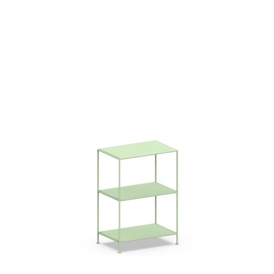 Stille Furniture Narrow Shelves 3-tier in Mint color