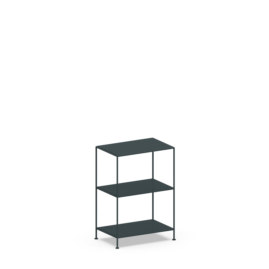 Stille Furniture Narrow Shelves 3-tier in Slate color