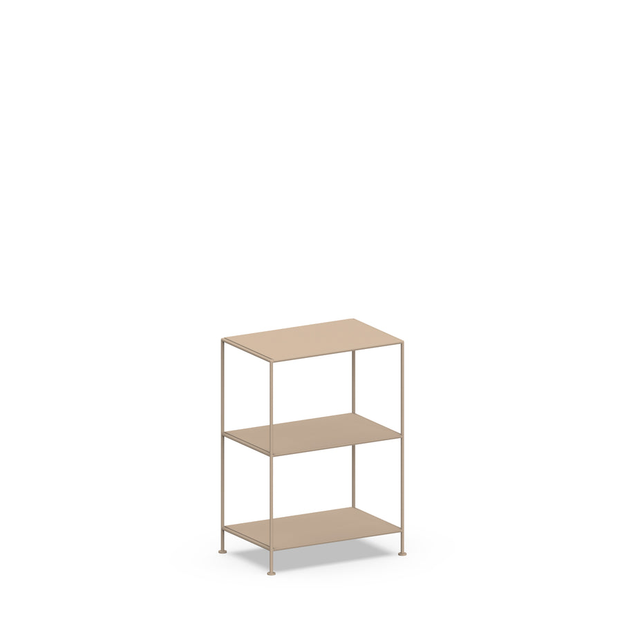 Stille Furniture Narrow Shelves 3-tier in Taupe color
