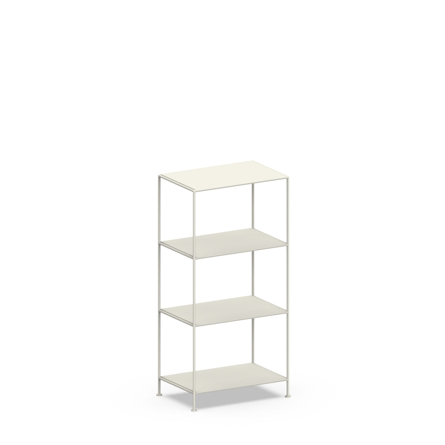 Stille Furniture Narrow Shelves 4-tier in Bone color