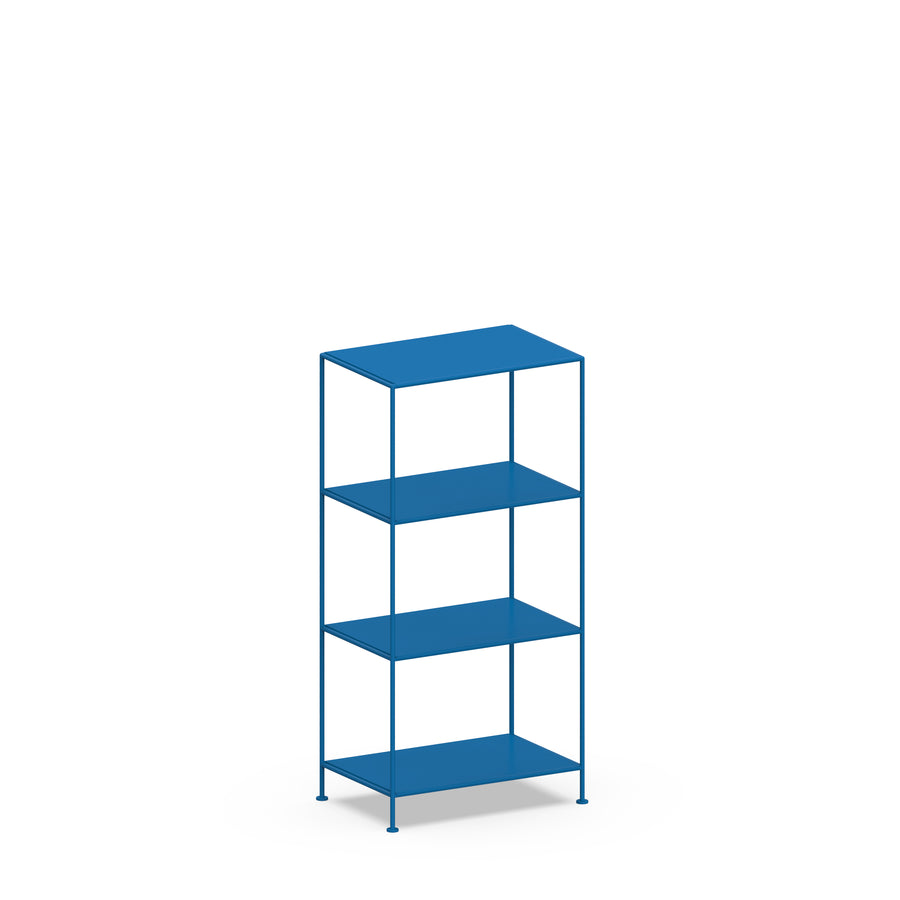 Stille Furniture Narrow Shelves 4-tier in Cobalt color