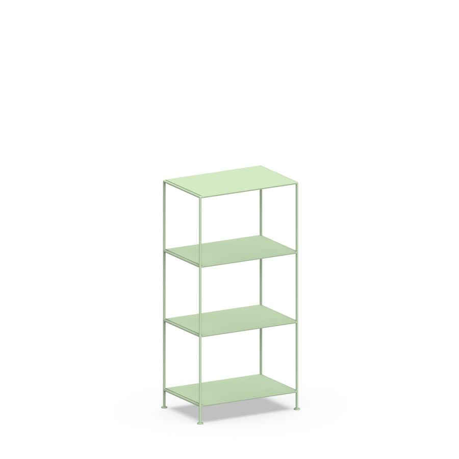 Stille Furniture Narrow Shelves 4-tier in Mint color