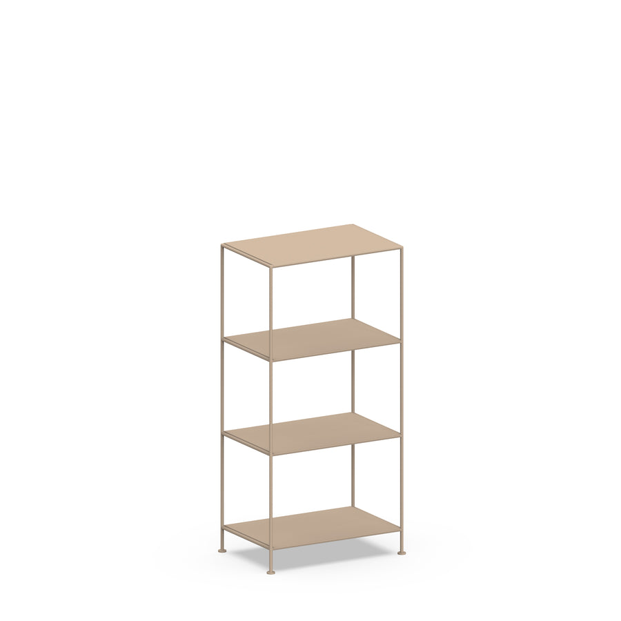 Stille Furniture Narrow Shelves 4-tier in Taupe color