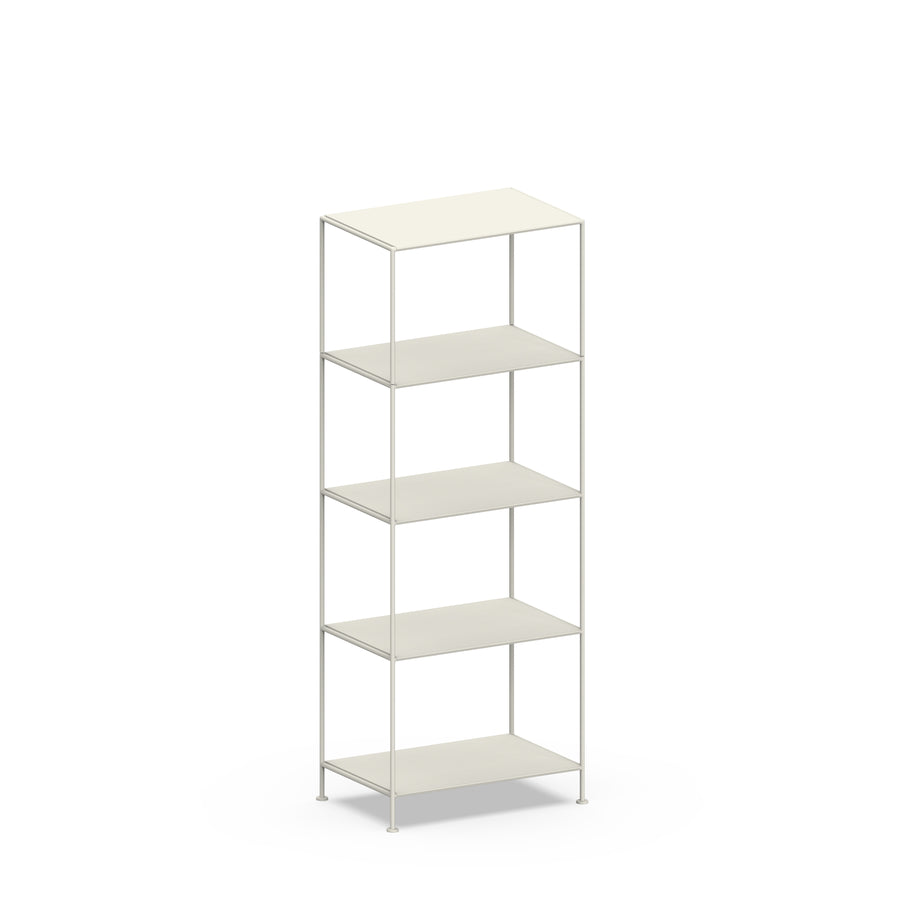 Stille Furniture Narrow Shelves 5-tier in Bone color