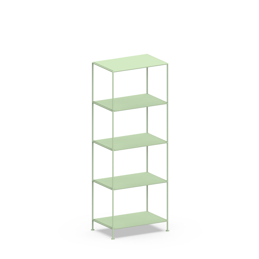 Stille Furniture Narrow Shelves 5-tier in Mint color