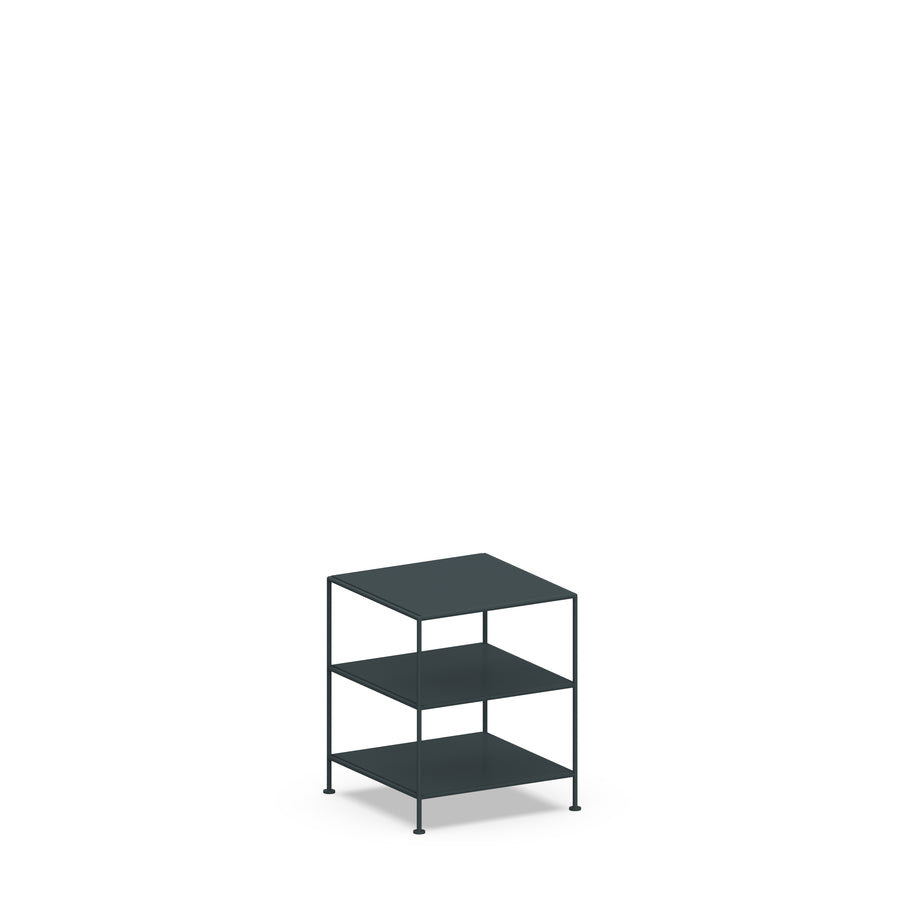 Stille Furniture Side Table High in Slate color