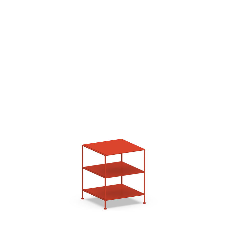 Stille Furniture Side Table High in Tomato color