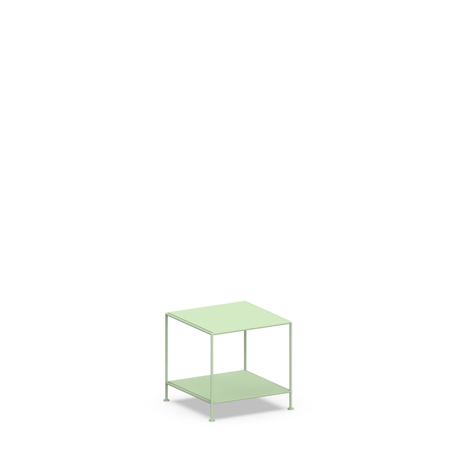 Stille Furniture Side Table Low in Mint color
