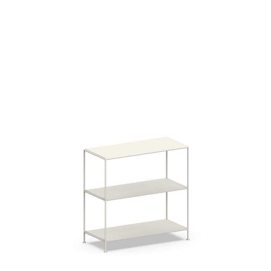 Stille Furniture Wide Shelves 3-tier in Bone color