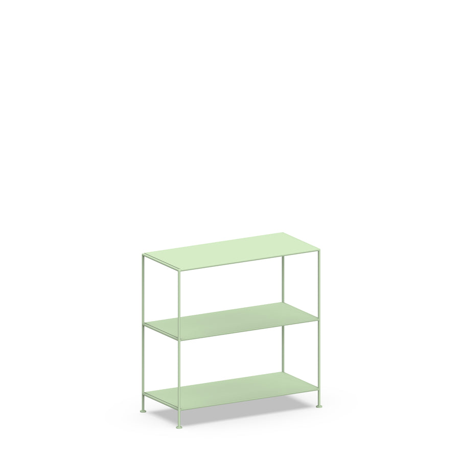 Stille Furniture Wide Shelves 3-tier in Mint color