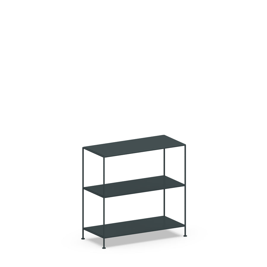 Stille Furniture Wide Shelves 3-tier in Slate color