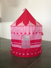 Pink Princess Pop Up Castle Play Tent