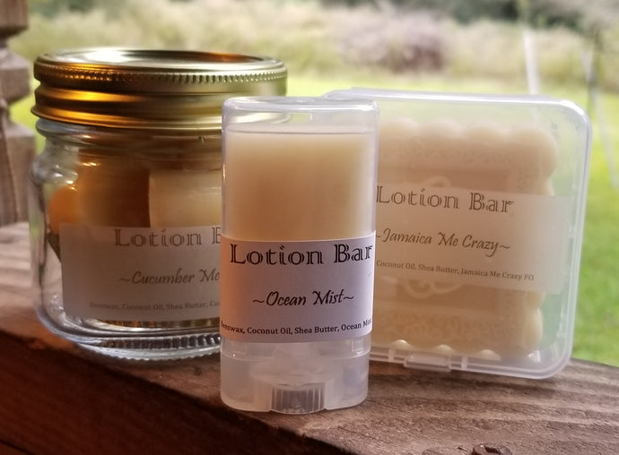 Square Solid Lotion Bar