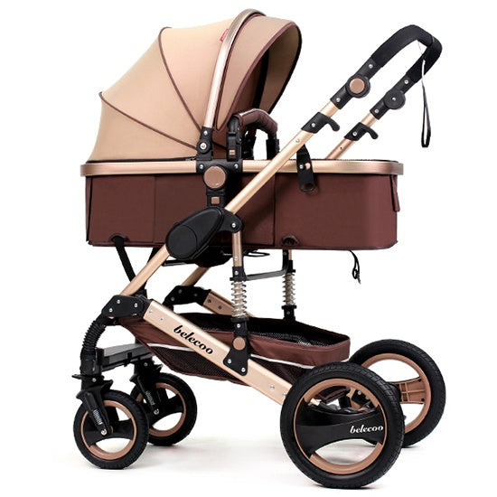 42ab4759e95c Belecoo Q3 Luxury Stroller   Car seat