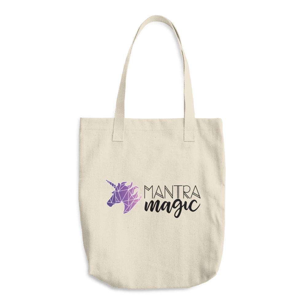 Mantra Magic Unicorn Cotton Tote Bag