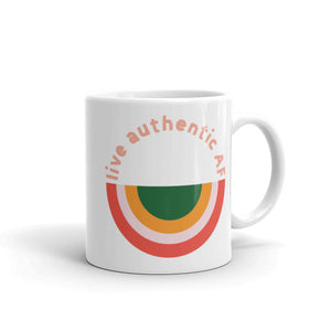 Live Authentic AF Mug